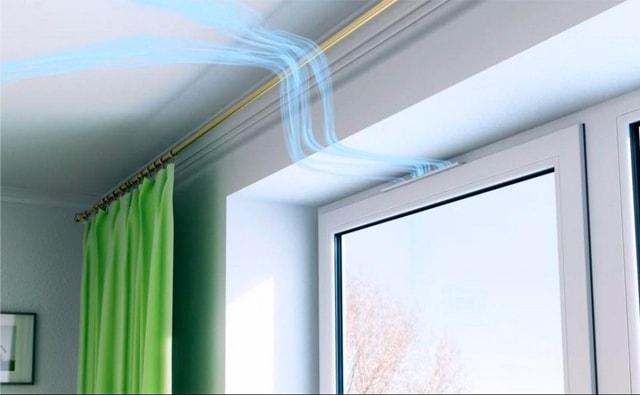 деревянные евроокна с вентиляционными клапанами казань
