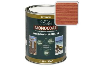 Масло Rubio Monocoat Hybrid Wood Protector, Winered 1 л.
